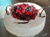 Tort z kopułka z owoców