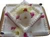 Tort z żywymi kwiatami 3