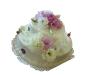 Tort z żywymi kwiatami 2